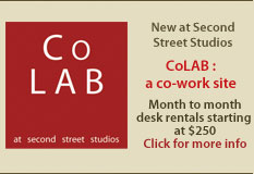 Second Street Studios - CoLab : A Co-work Site! Month to month desk rental starting at $250