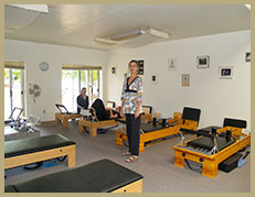 The Pilates Studio in Second Street Studios